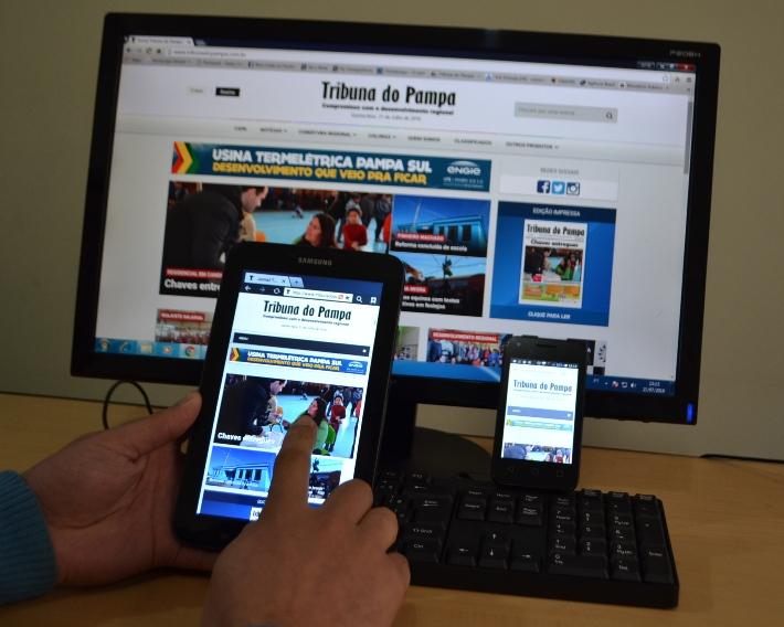 O site se adapta a todas as plataformas