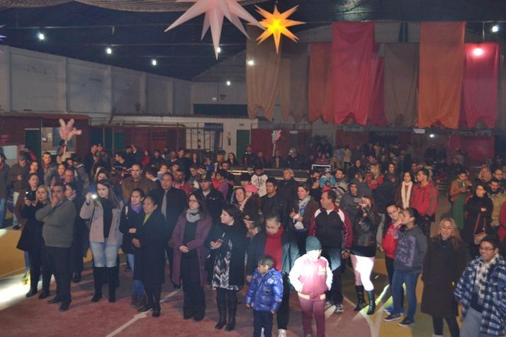 Boa presença de público na Noite Gospel