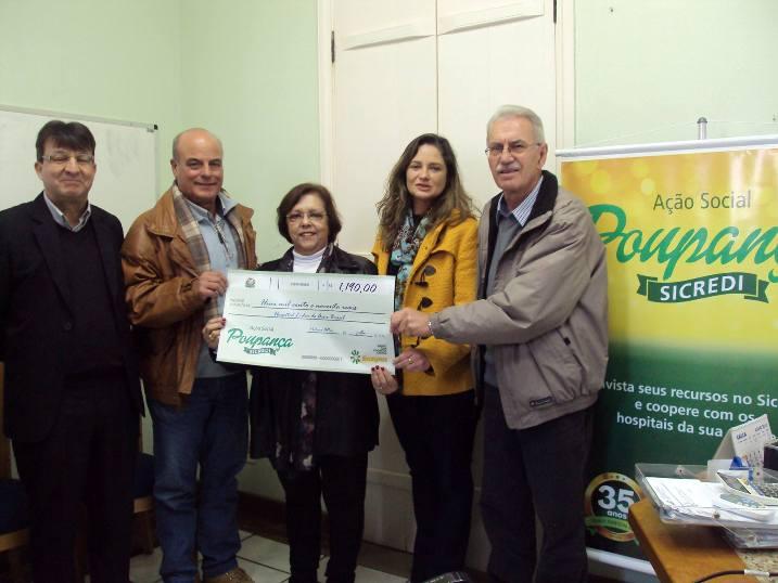Pedras Altas recebeu um valor de R$ 1.190 da cooperativa