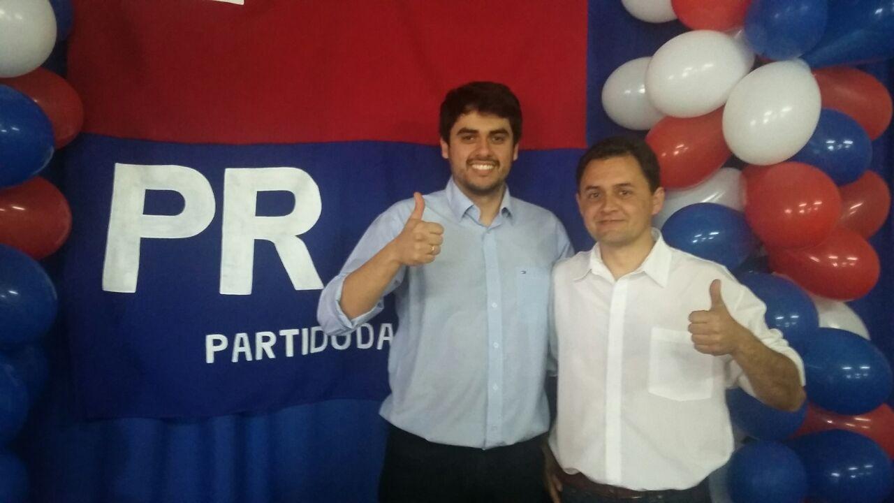 Os Leandros, Soares e Bandeira, são os candidatos a prefeito e vice pelo PR