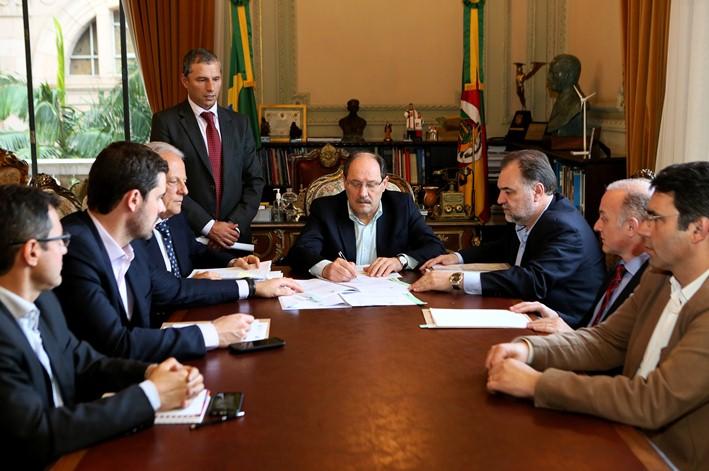 Governador José Ivo Sartori se reuniu com o Gabinete de Gestão da Segurança