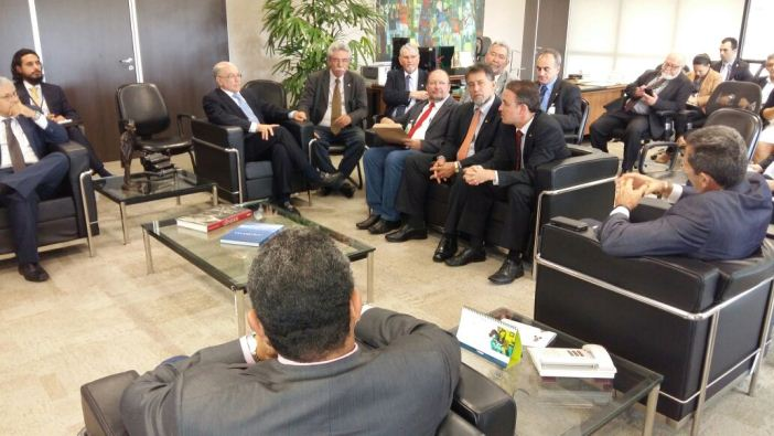 Deputado do Núcleo Agrário do PT estiveram reunidos com o presidente do TCU