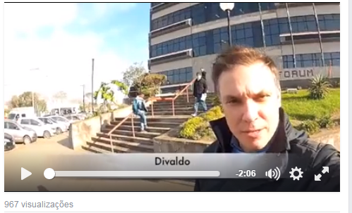 Divaldo entra com diversas medidas judiciais e acusa o PT e seus aliados de estarem por trás do vídeo
