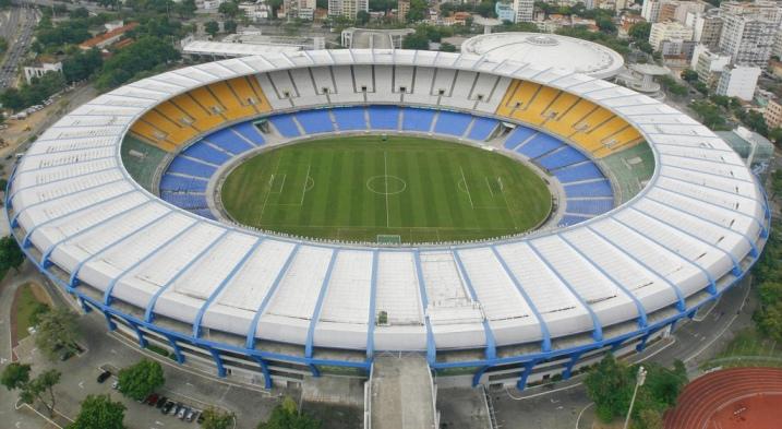 Estádio do Maracanã será o palco da abertura