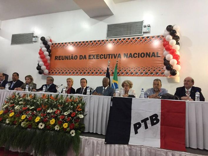 Resolução da executiva nacional do PTB alterou o Estatuto do partido