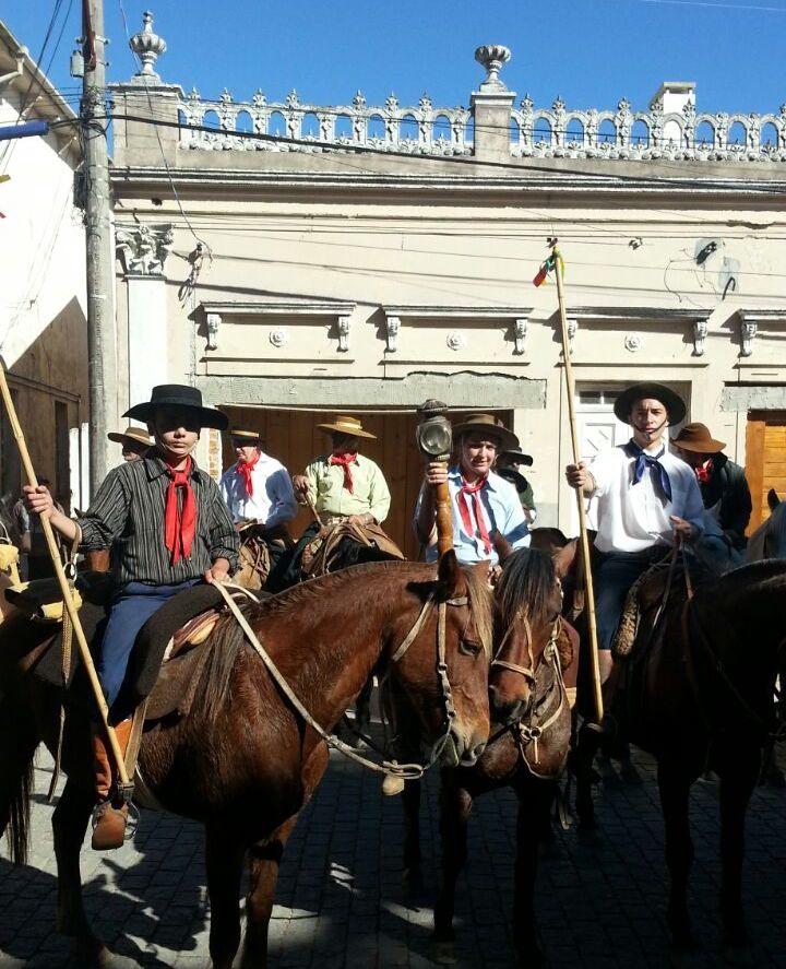 Em Pinheiro Machado, um dos símbolos dos festejos farroupilhas chegou à cidade na última sexta-feira, 9,