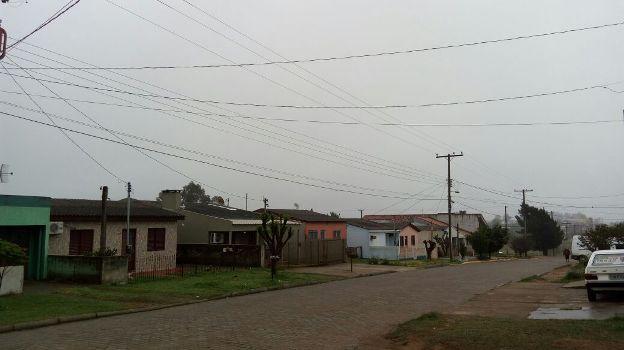A sexta-feira em Candiota amanheceu nublada e com nevoeiro