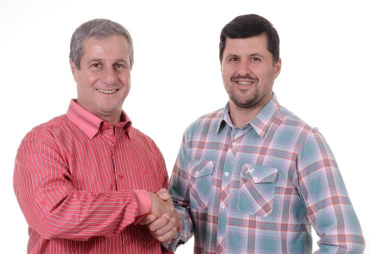 Bebeto e Giovanni são prefeito e vice eleitos