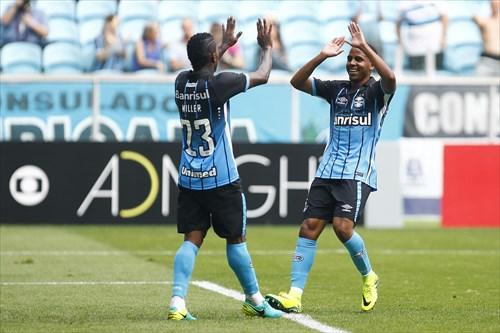 Tricolor venceu a equipe mineira, com gols de Fred, Negueba e Miller Bolaños
