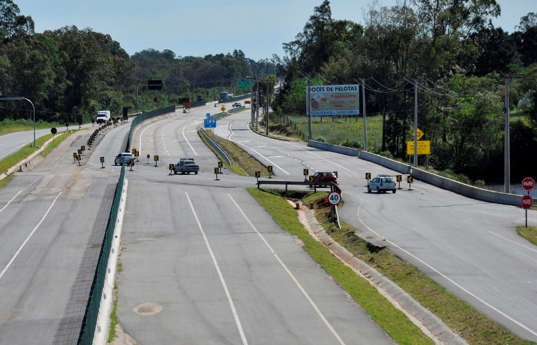 Inicialmente o tráfego será liberado no sentido Pelotas-Porto Alegre