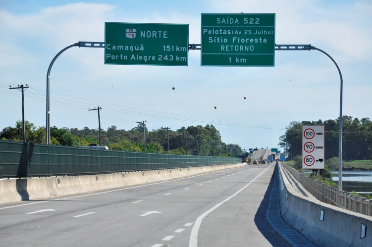 Ponte sobre a barragem Santa Bárbara terá trânsito liberado