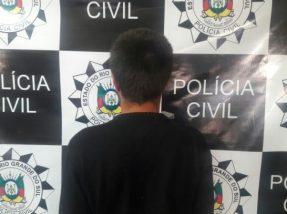 Indivíduo também é investigado por tentativa de latrocínio em Pinheiro Machado