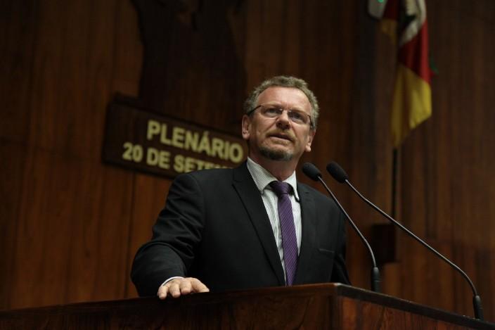 Mainardi é líder da bancada do PT na Assembleia Legislativa