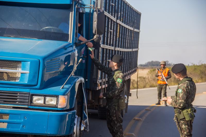 Órgãos de segurança trabalham no combate aos crimes de fronteira