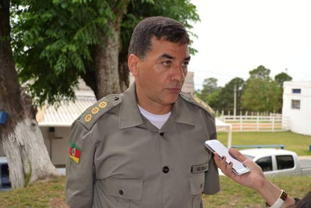 Comandante Goulart apresentou os dados
