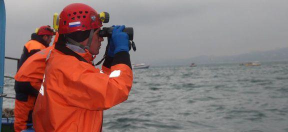 Os destroços foram encontrados a 1,5 quilômetro da costa da cidade de Sochi, a uma profundidade entre 50 e 70 metros