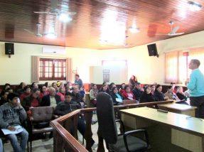 Evento foi realizado na Câmara de Vereadores