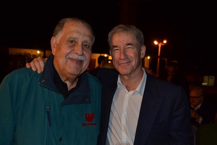 Luiz Eduardo Batalha e David Grose