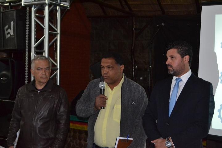 Jaime, Guilherme e Adriano