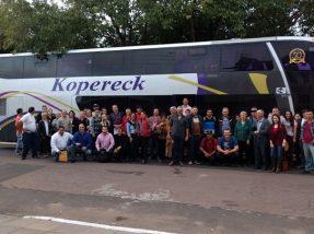 Grupo de Hulha Negra que viajou para a Expointer