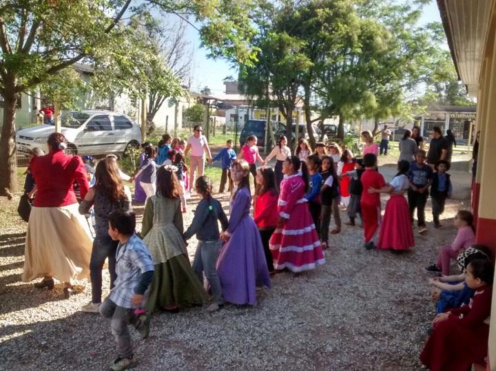 Turmas realizaram atividades fora das salas de aula