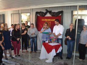 Diretora Dinorah Matte classificou o momento como histórico e agradeceu o empenho para a concretização da doação da área