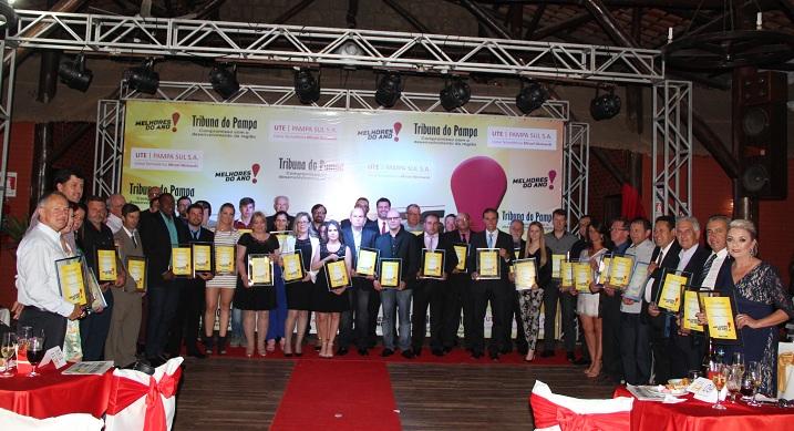 No ano passado o evento foi realizado de forma unificada em Candiota, com todos os vencedores