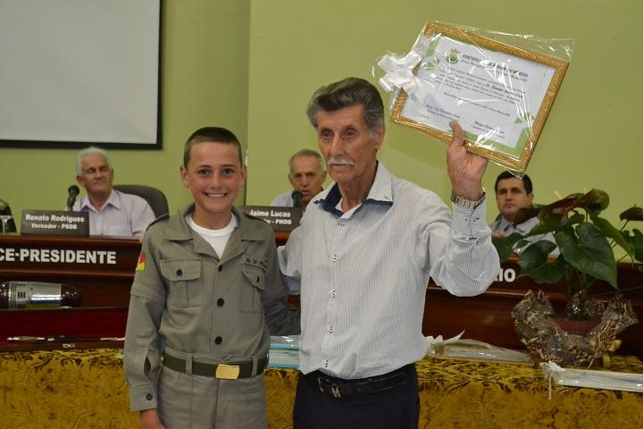 Brigadiano da reserva Edroaldo Silveira Lima foi homenageado