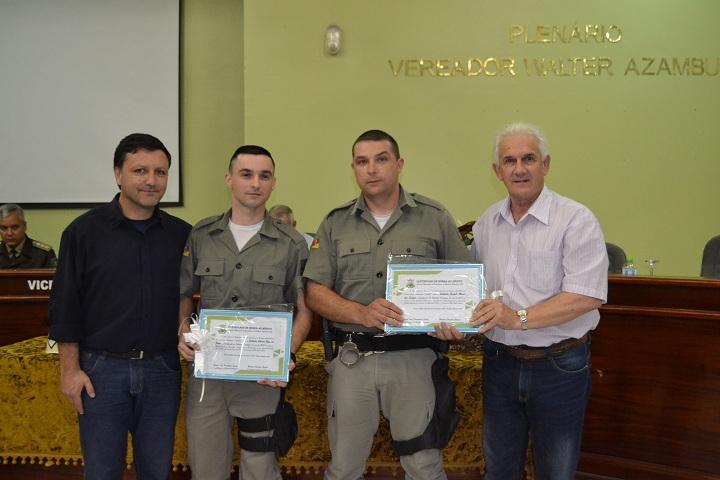 Soldados da ativa, Reis e Alonso, foram os que mais atenderam ocorrências e efetuaram prisões em 2017
