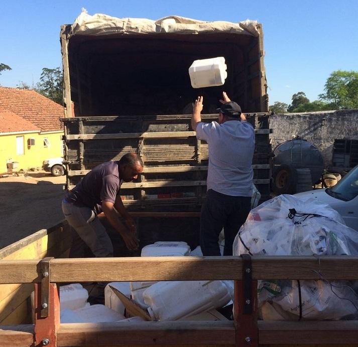 Embalagens foram recolhidas pela Aredesul