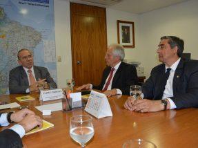 O anúncio foi feito pelo ministro-chefe da Casa Civil da Presidência da República, Eliseu Padilha, para a comitiva gaúcha em Brasília