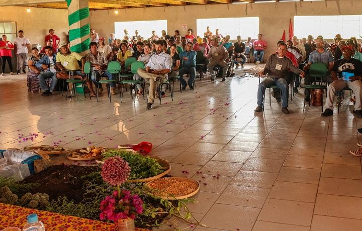 Comemoração reuniu agricultores do Brasil, Itália e Uruguai