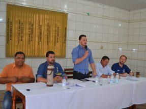 A audiência foi presidida pelo vereador Fabrício Moraes e teve a  participação do prefeito Adriano dos Santos