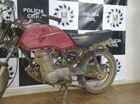 Motocicleta havia sido furtada no dia 18 de novembro