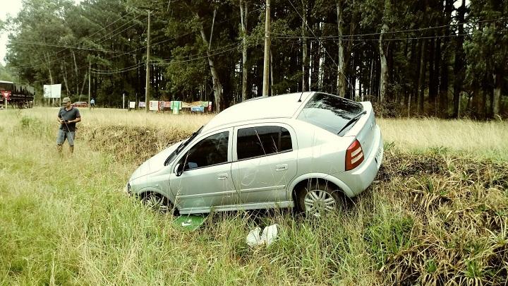 Astra foi arremessado para fora da pista