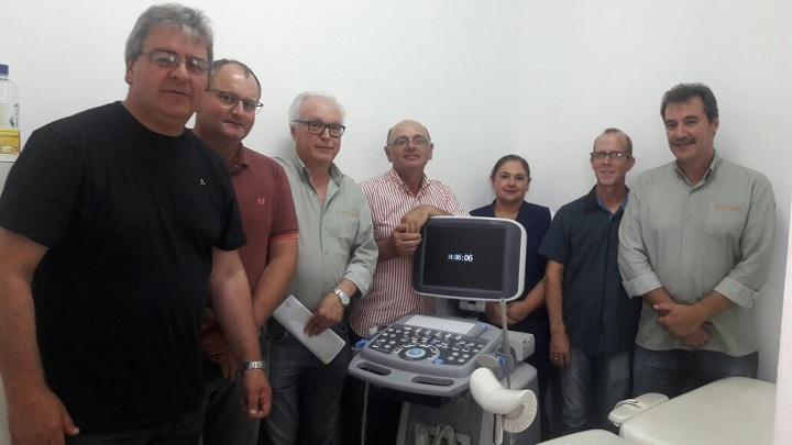 Entrega oficial do equipamento aconteceu com a presença de autoridades municipais, equipe da saúde e representantes da UTE Pampa Sul