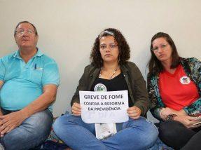 Frei Sérgio e outras duas militantes iniciaram a medida extrema nesta terça-feira (5)