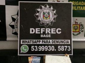 A menor trazia a droga de Porto Alegre