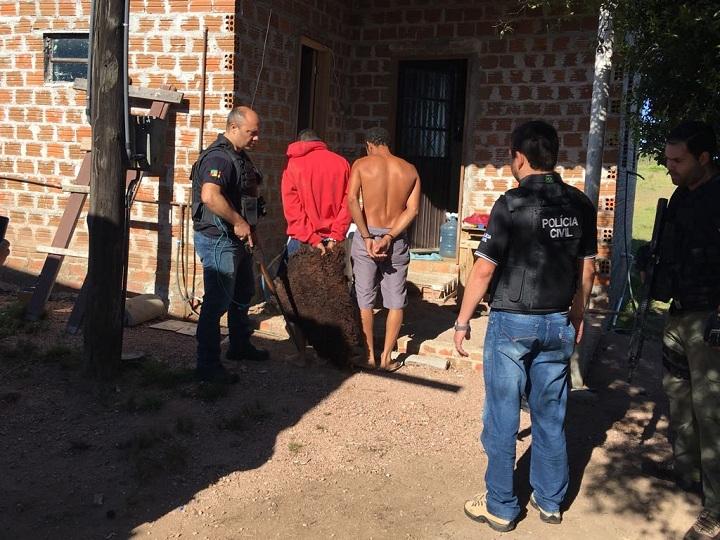 Operação ocorreu no interior do município