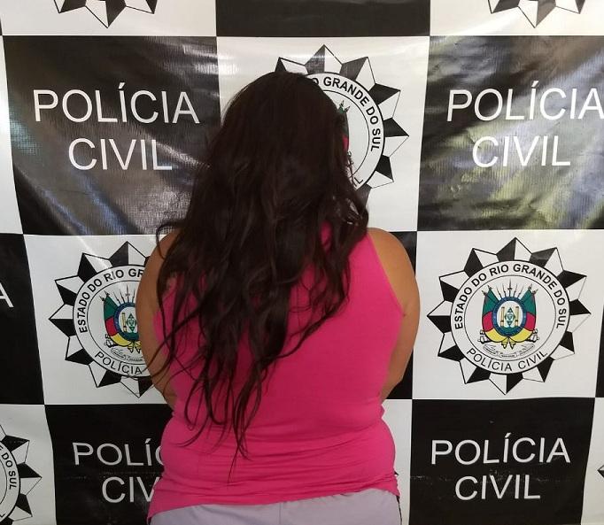 Mulher atuava junto no tráfico