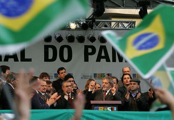 Em julho de 2005, Lula oficializava na praça Silveira Martins, em Bagé, a criação da Unipampa