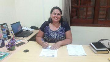 Elizangela Coitinho está no seu primeiro mandato  como vereadora de Hulha Negra