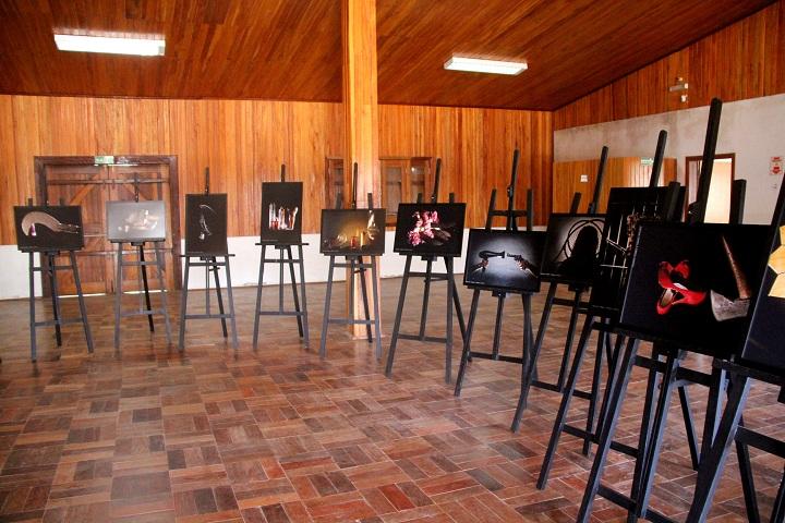 Exposição apresentada por Luciana Saraiva