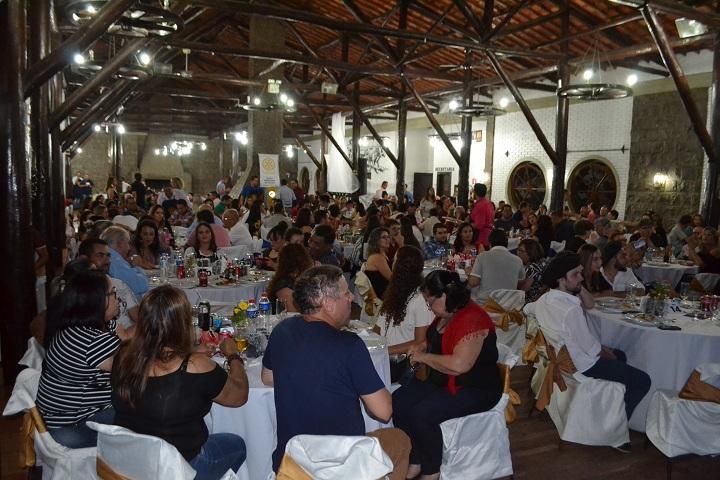 Público lotou as dependências do CTG Candeeiro do Pago, na Vila Residencial