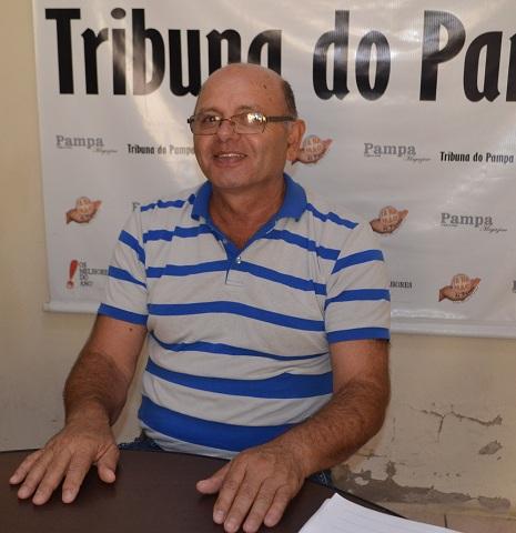 Prefeito Renato Machado comemora em razão da importância que a área representa para o município