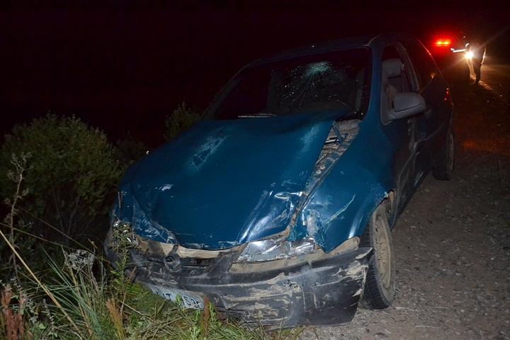Motorista do Celta não se feriu