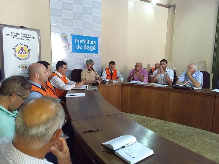 Reunião contou com a participação de lideranças políticas da região