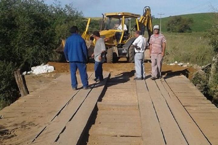 Acesso a ponte recebeu os reparos necessários