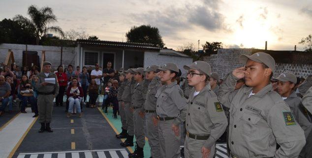 Brigada Militar formou 24 novos soldados mirins
