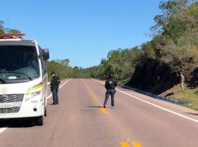 Barreira prendeu outro suspeito nesta quarta-feira (16)